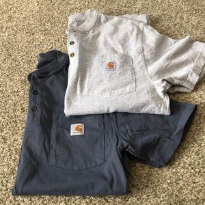 Carhartt Shirts - NWOT *2* Carhartt Original Fit Henley Tee - Size S